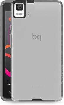 BQ Gummy - Funda para Aquaris E5s, Color Negro: Amazon.es: Electrónica
