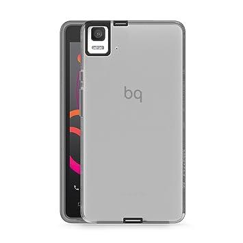 bq Gummy - Carcasa para bq E5S, color negro