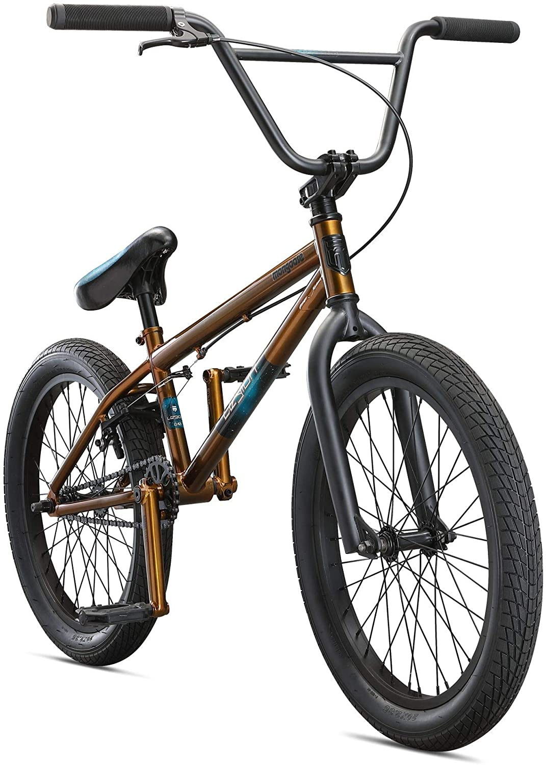 Mongoose Legion Freestyle BMX Bike Line for Kids, Youth and Beginner-Level to Advanced Adult Riders,16-20-Inch Wheels, Steel Frame, Multiple Colors, Models
