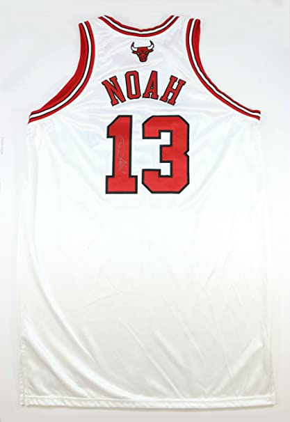 new concept 9aaf4 7dd12 JOAKIM NOAH 07-08 ROOKIE CHICAGO BULLS GAME USED WORN SIGNED ...