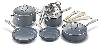 GreenPan 12 Piece Nonstick Ceramic Cookware Set