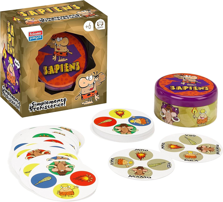 Falomir Sapiens, Juego de Mesa, Cartas (28411): Amazon.es: Juguetes y juegos