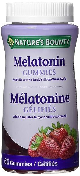 Natures bounty melatonin