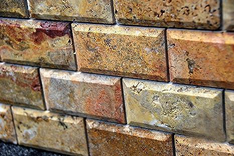 Scabos con angoli smussati per piastrelle mattoni