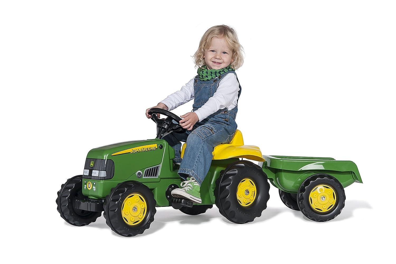 Rolly Toys Tractor de juguete con remolque desmontable