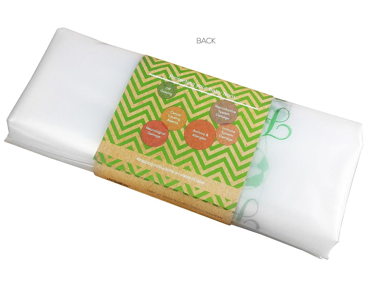 amazon com harlow s earth waterproof crib mattress cover