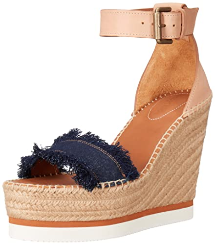 a178adad8169 Amazon.com  See by Chloé Women s Glyn Espadrille Wedge Sandal  Shoes