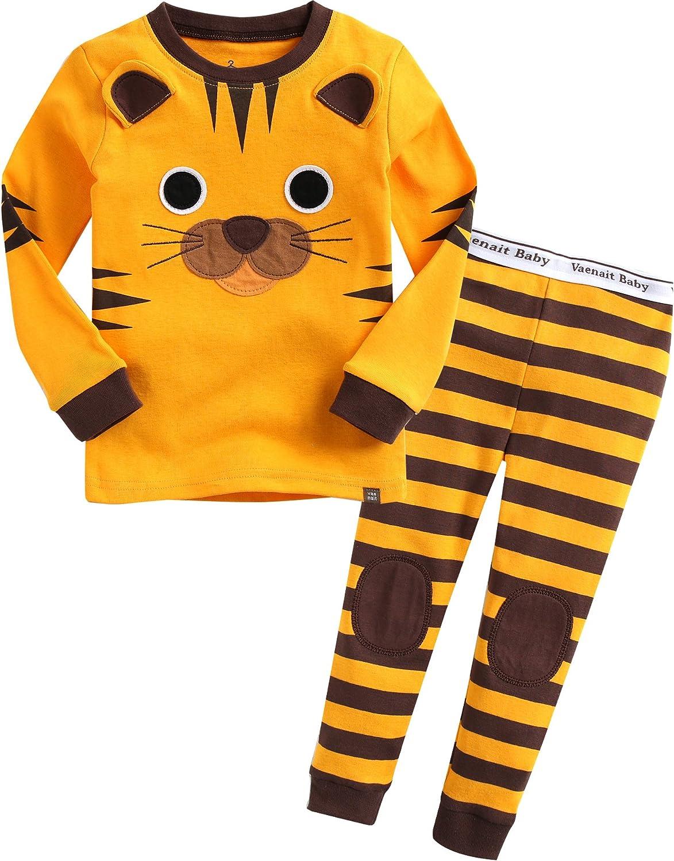 VAENAIT BABY 12M-12 Toddler Girls Boys Kids 100% Cotton Dinosaur Rabbit Easter Day Pajamas Sleepwear Pjs