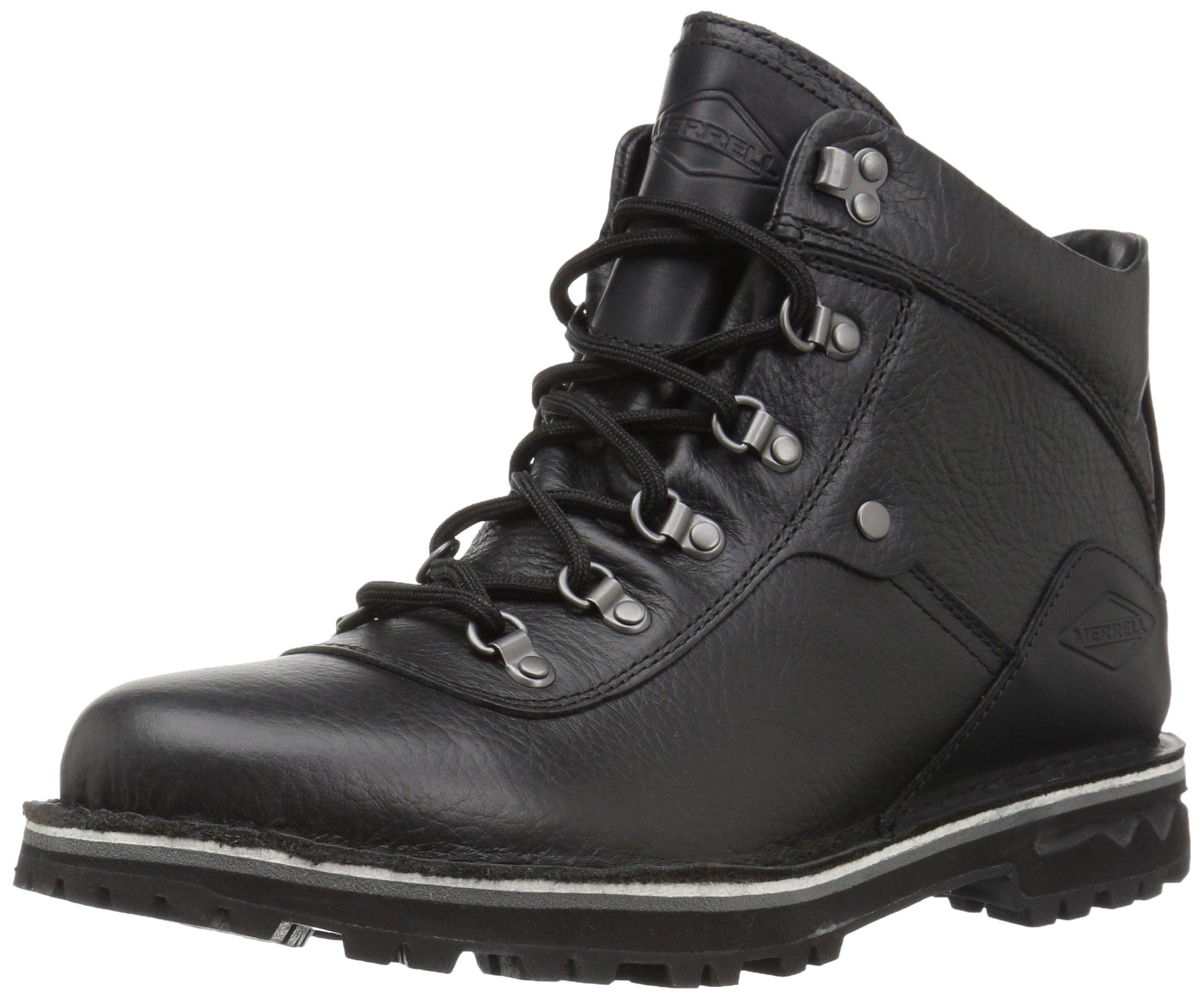 Merrell Women's Sugarbush Refresh Waterproof Hiking Boot, Black, 7.5 M US