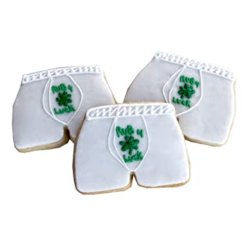 Amazon 1 2 Dz Rub 4 Luck Mens Boxers Cookies St Patricks Day