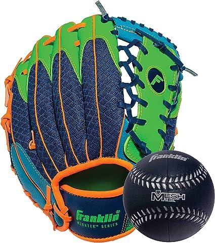 "10,5/"" verde-guante de béisbol Franklin teeball Fielding Glove-infinite web ®"