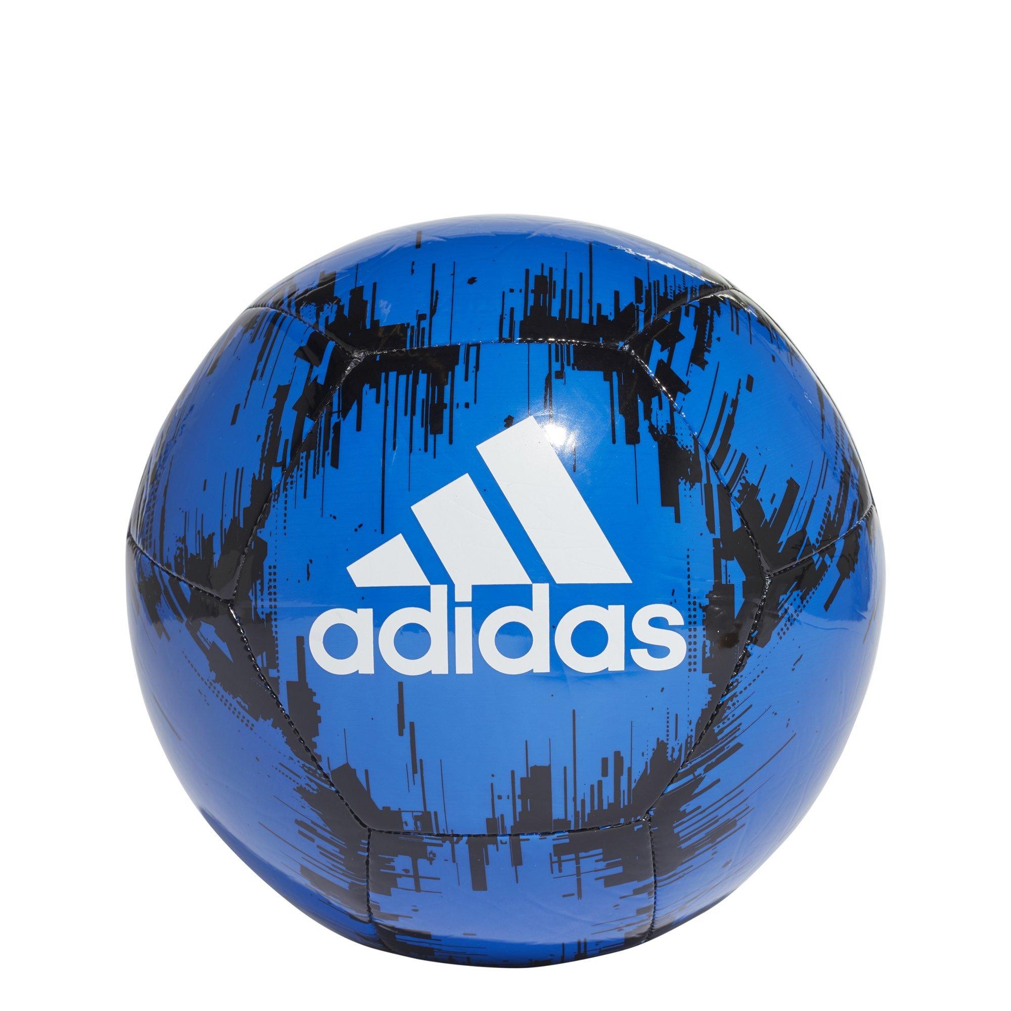 adidas Performance Ace Glider II Soccer Ball, Football Blue/Black/White, Size 3