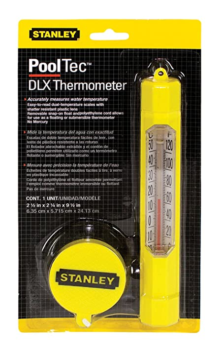 Stanley 08004 DLX Thermometer - Yellow