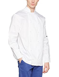 Portwest C771 - Chaqueta Norwich Chef, color Blanco, talla Medium