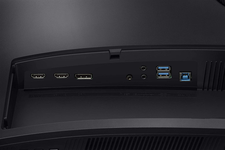 Samsung C32HG70QQU Moniteur Gaming incurv/é 2560 x 1440, 144 Hz, 1ms, HDR 600, QLED noir Dalle VA 32  WQHD
