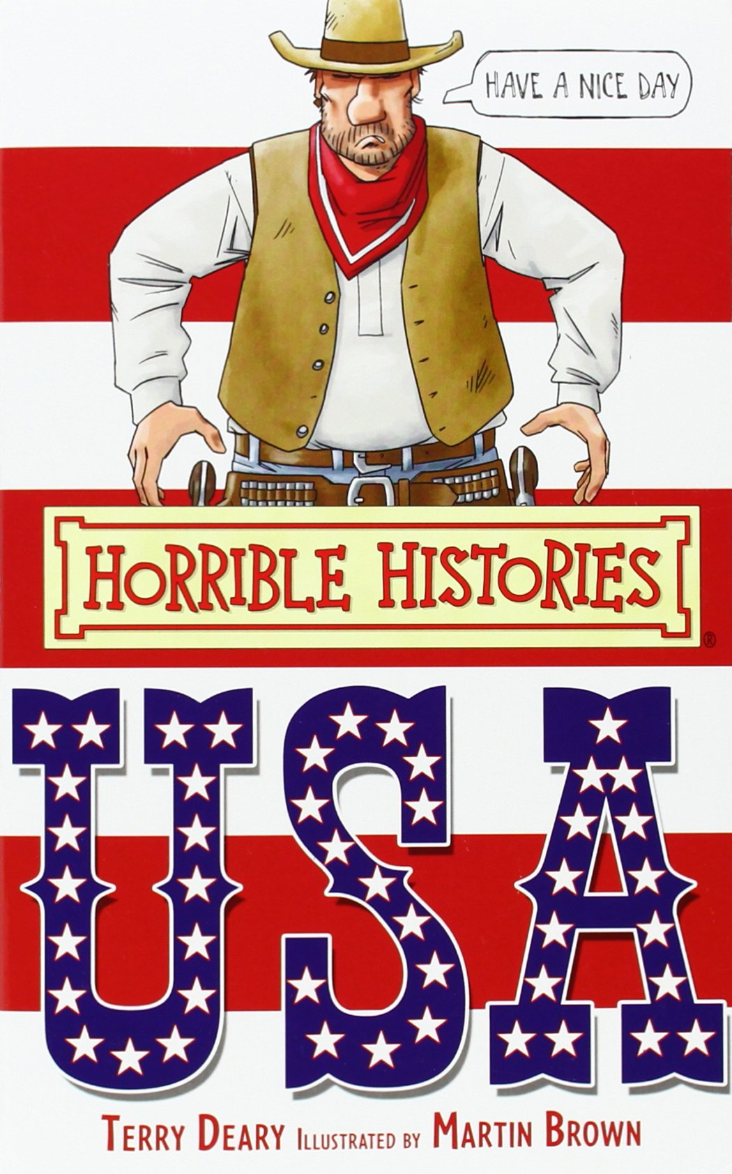 The USA (Horrible Histories Special) PDF