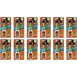 Gorilla Super Glue Gel, 15 g, Clear, (12 Pack)