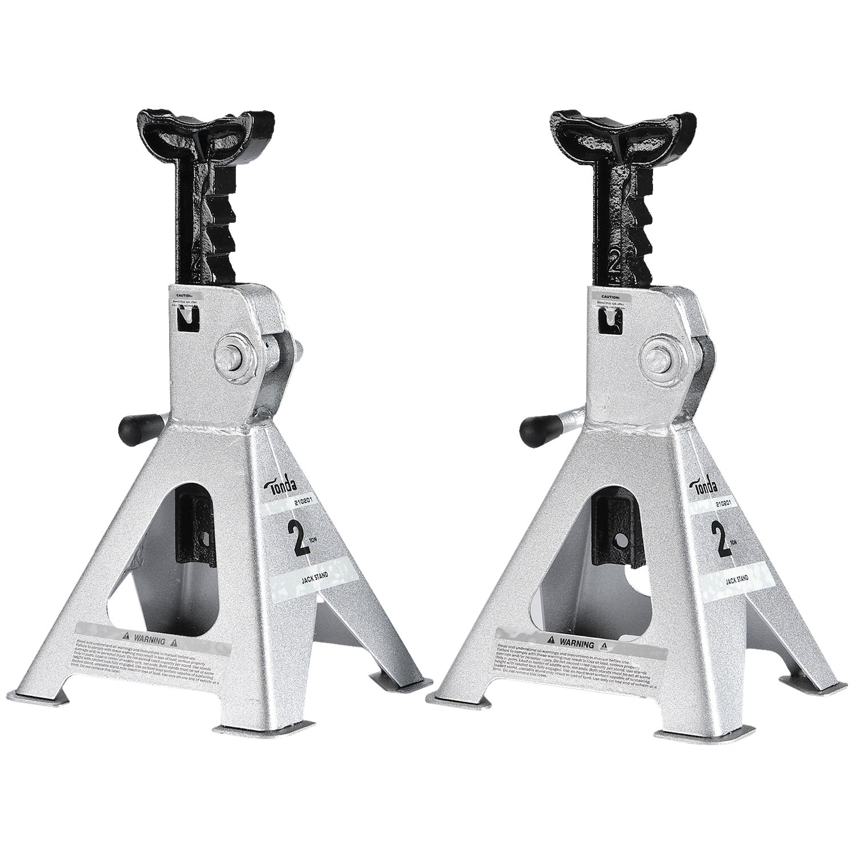 TONDA Steel Jack Stands, 2 Ton Capacity, 1 Pair
