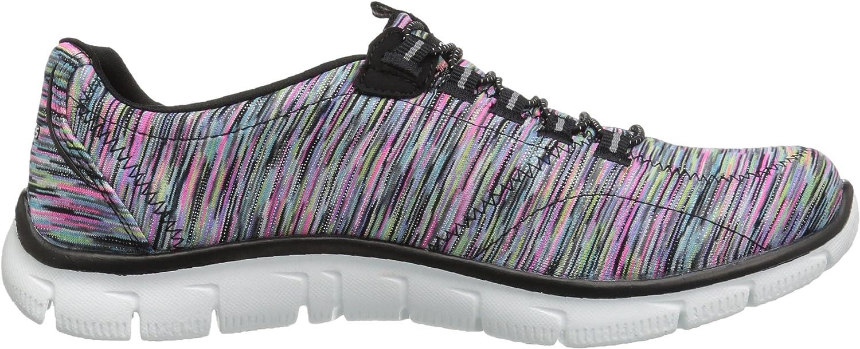 Skechers Sport Women's Empire Fashion Sneaker Black/Multi