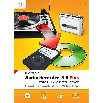 Honest Technology Audio Recorder 3.0 Plus - Software de edición de audio/música (300 MB, 256 MB, Intel Pentium 4 1.8GHz+, Caja, DEU, ENG, ESP, ENG, POR, MP3, WAV, WMA)