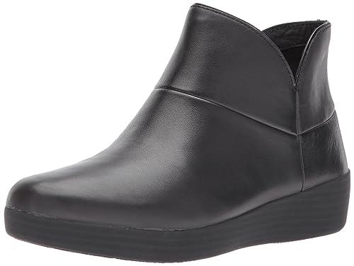 Fitflop Supermod Leather TM Ankle Boot II, Zapatillas Altas para Mujer: Amazon.es: Zapatos y complementos