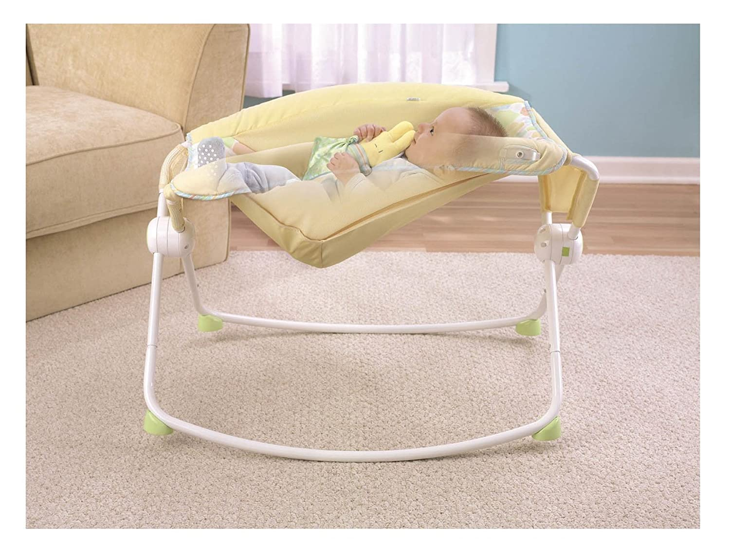 Baby bed newborn - Amazon Com Fisher Price Newborn Rock N Play Sleeper Yellow Discontinued By Manufacturer Baby