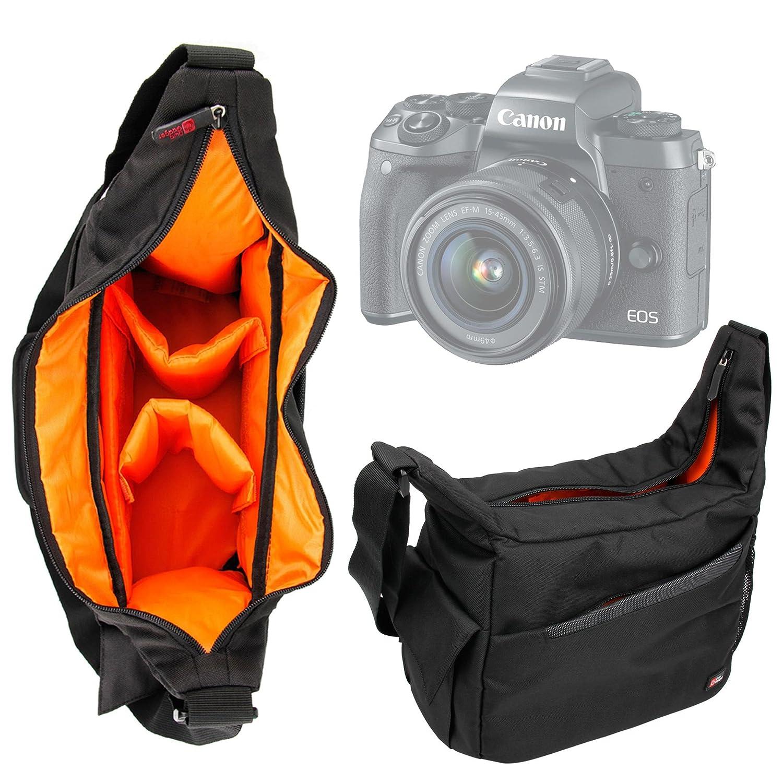 DURAGADGET Bandolera para Cámara Canon Spain EOS 750D, Pentax K-S2 ...
