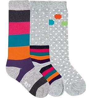 4 Paar s.Oliver Socken Strümpfe Kinder Mädchen Baumwolle Cats grey S20309