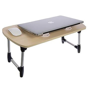 Stand Up Desk Converter Standing Desktop Desk  Laptop Table Portable  Foldable Laptop Desk