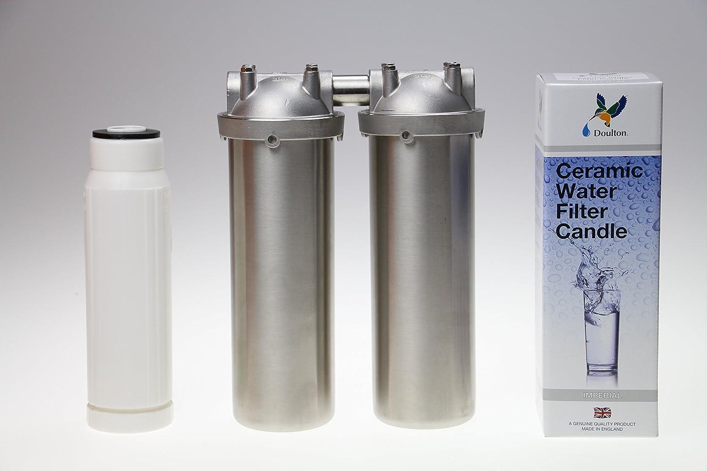 Quellklar Nitrat-Duo-Küchenfilter für gesundes Trinkwasser ...