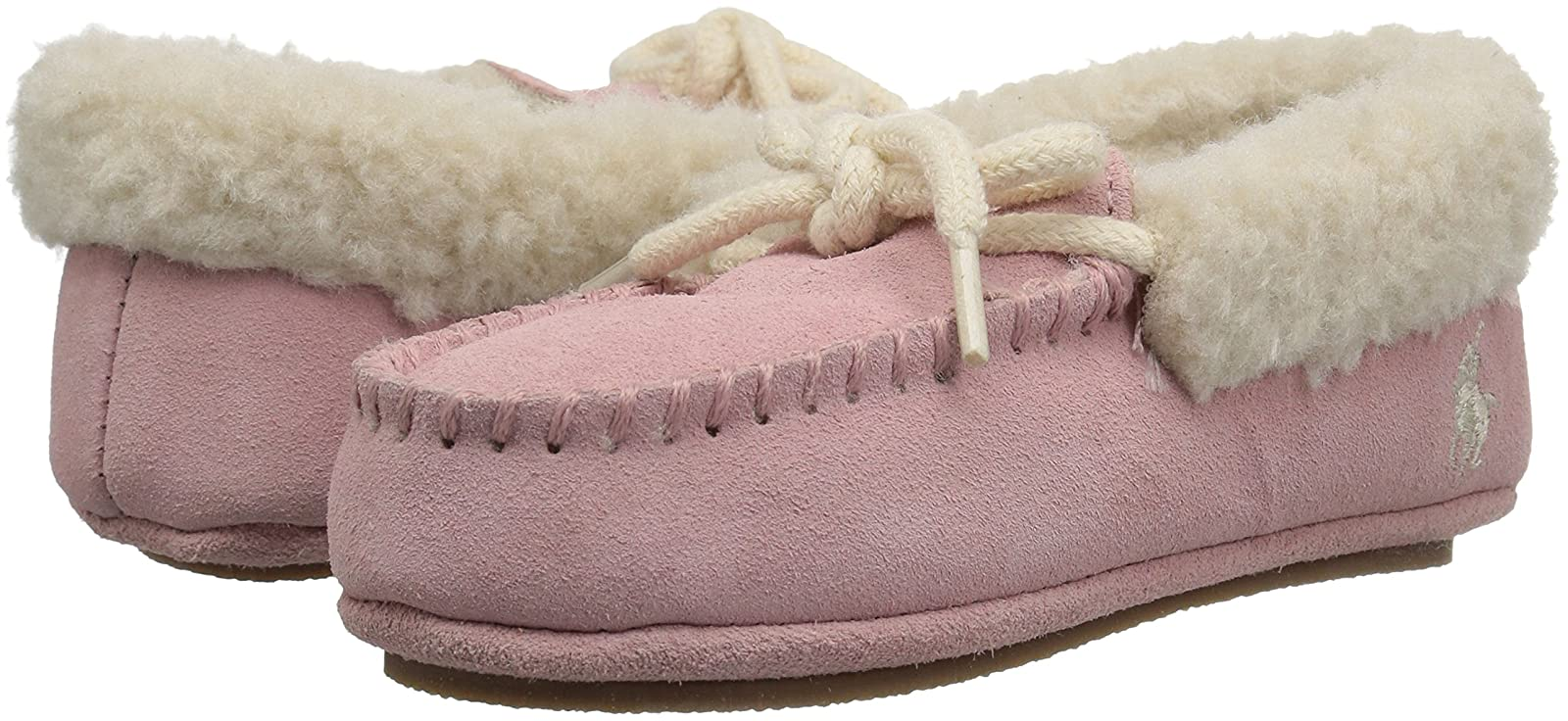 Polo Ralph Lauren Kids Girls' Allister Slipper RF100516T - 6