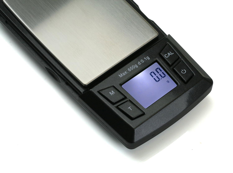 American Weigh Scales aero-650 tamaño de Bolsillo Digital Escala con Bandeja de expansión, 650 mm Capacidad: Amazon.es