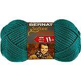 Bernat Softee Chunky Yarn, Emerald, Single Ball