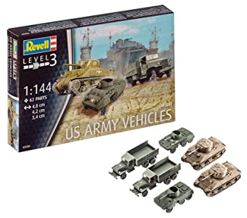Revell- Maqueta de Tanque, US Army Sherman, 2c M8 Greyhound ...