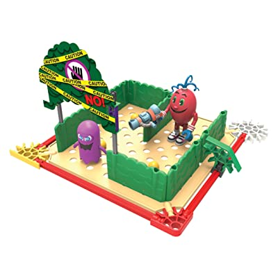 K'NEX Pac-Man Spiral's World Maze Building Set: Toys & Games