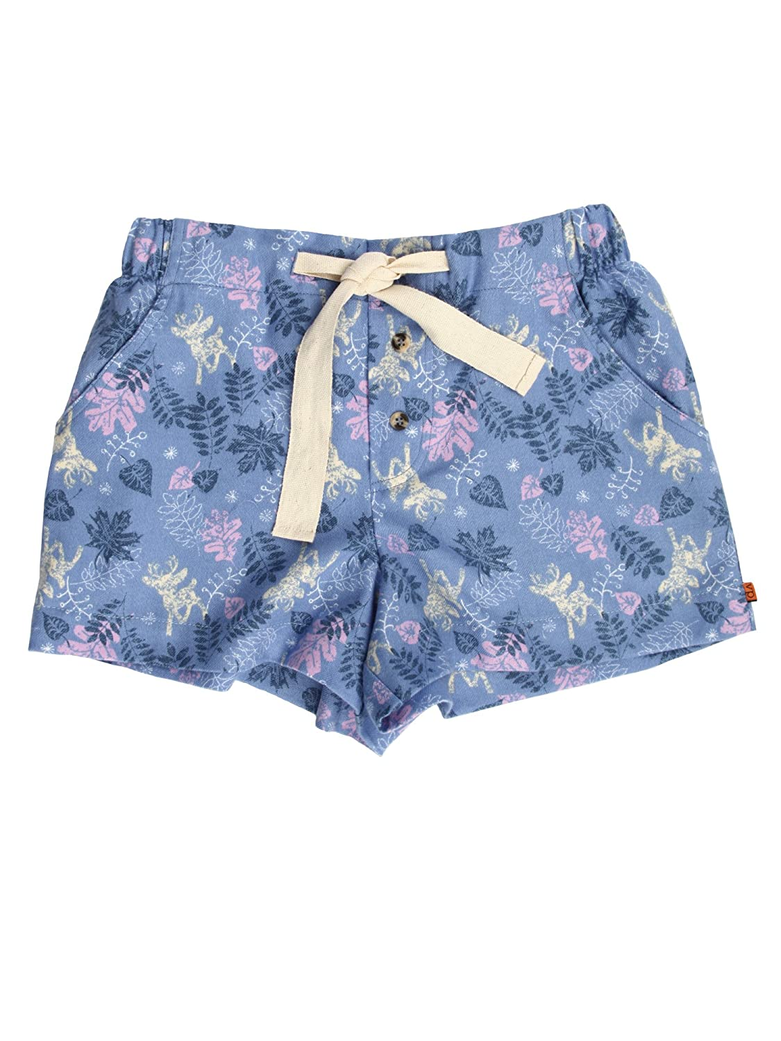 Mini Vanilla Girls Lounge Shorts FERN