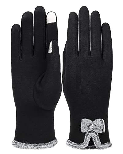 IL Caldo Women's Screentouch Thick Warmer Weather Gloves