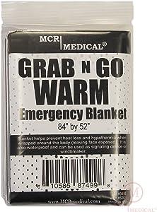 Silver Mylar Emergency Blanket, 84