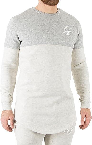 Sik Silk Hombre Camisa de entrenamiento, Blanco, X-Large: Amazon.es: Ropa y accesorios