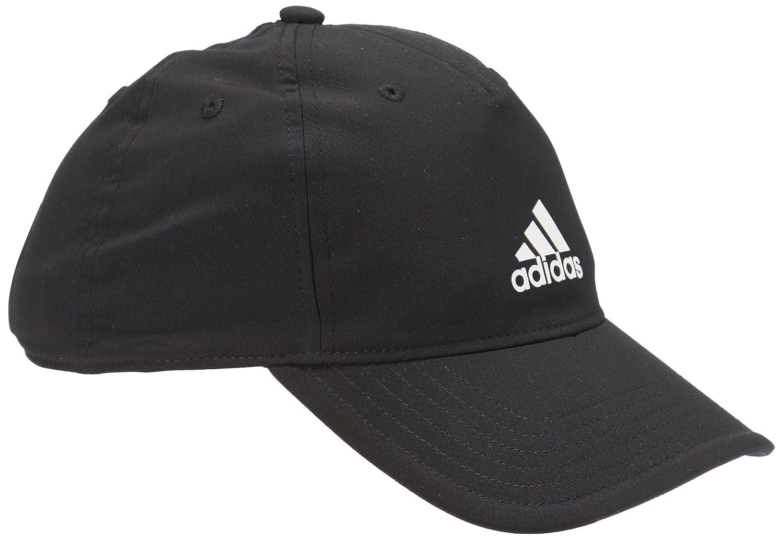 adidas ClimaLite Cap - Gorra unisex, color negro / azul / blanco, talla OSFW
