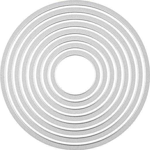 83 opinioni per Sizzix Framelits- Pacco da 8 fustelle cerchio