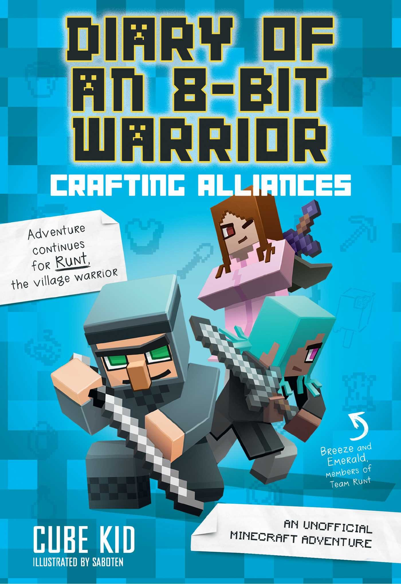 Diary 8 Bit Warrior Alliances Unofficial product image