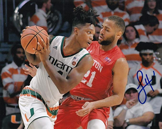 LONNIE WALKER signed (MIAMI HURRICANES) basketball 8X10 photo  PROOF  W COA   3 - Autographed College Photos at Amazon s Sports Collectibles Store 4afbf2c97