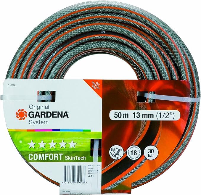 Gardena 8599-20 SkinTech - Manguera (13 mm, 50 m): Amazon.es: Jardín