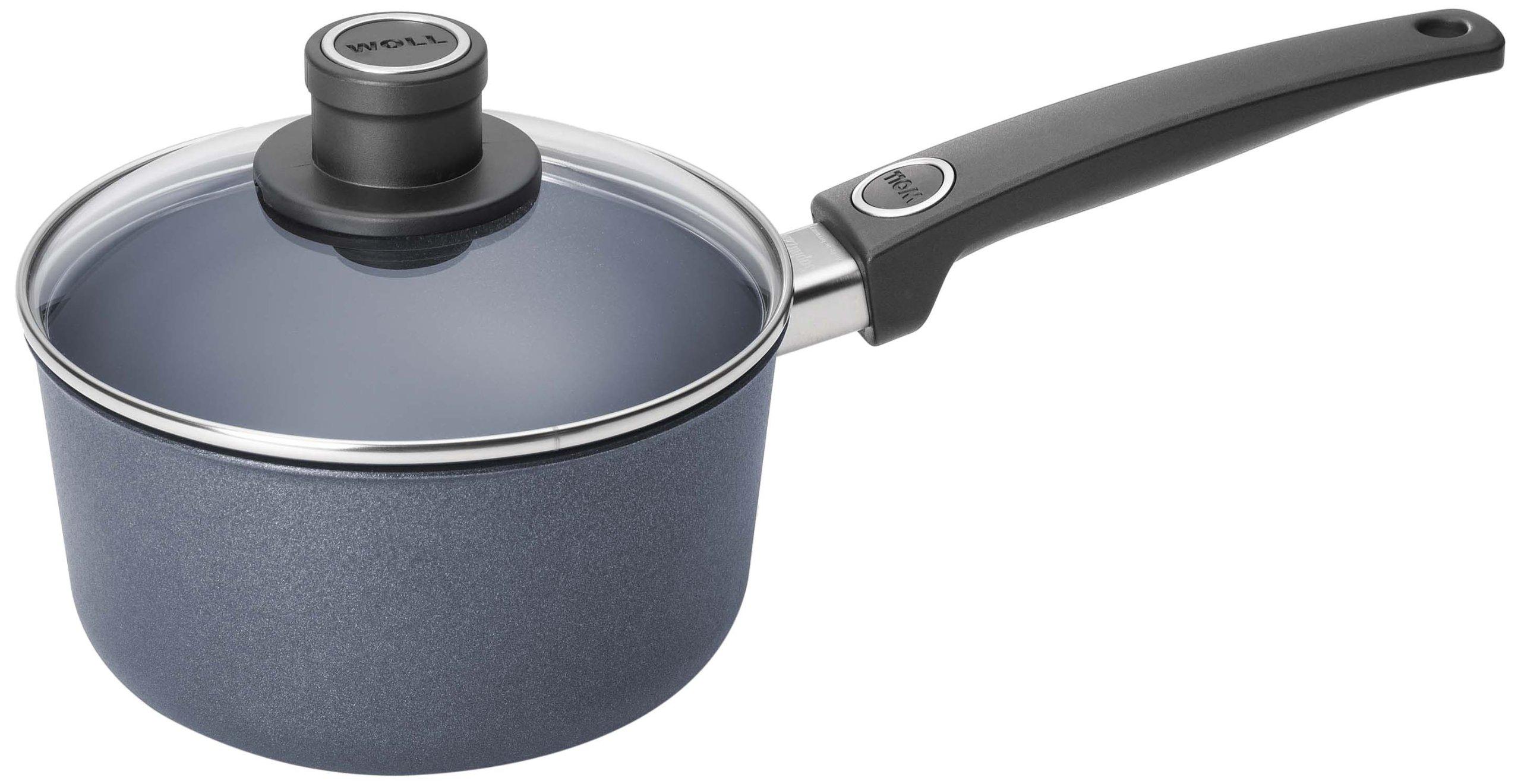 Woll W918DPSL Plus/Diamond Lite Sauce Pan, 2-Quart Saucepan with Lid,