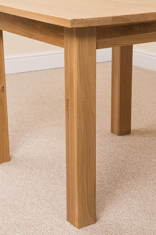 Oak furniture king oslo solid oak square 90cm x 90cm dining room oak furniture king oslo solid oak square 90cm x 90cm dining room table amazon kitchen home watchthetrailerfo