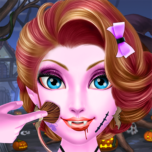 Dress Up And Make Up Game (Halloween Vampire Makeover Salon)