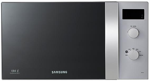 Samsung ME82V-SS/XEG - Microondas (23 litros, 800 vatios), color plateado