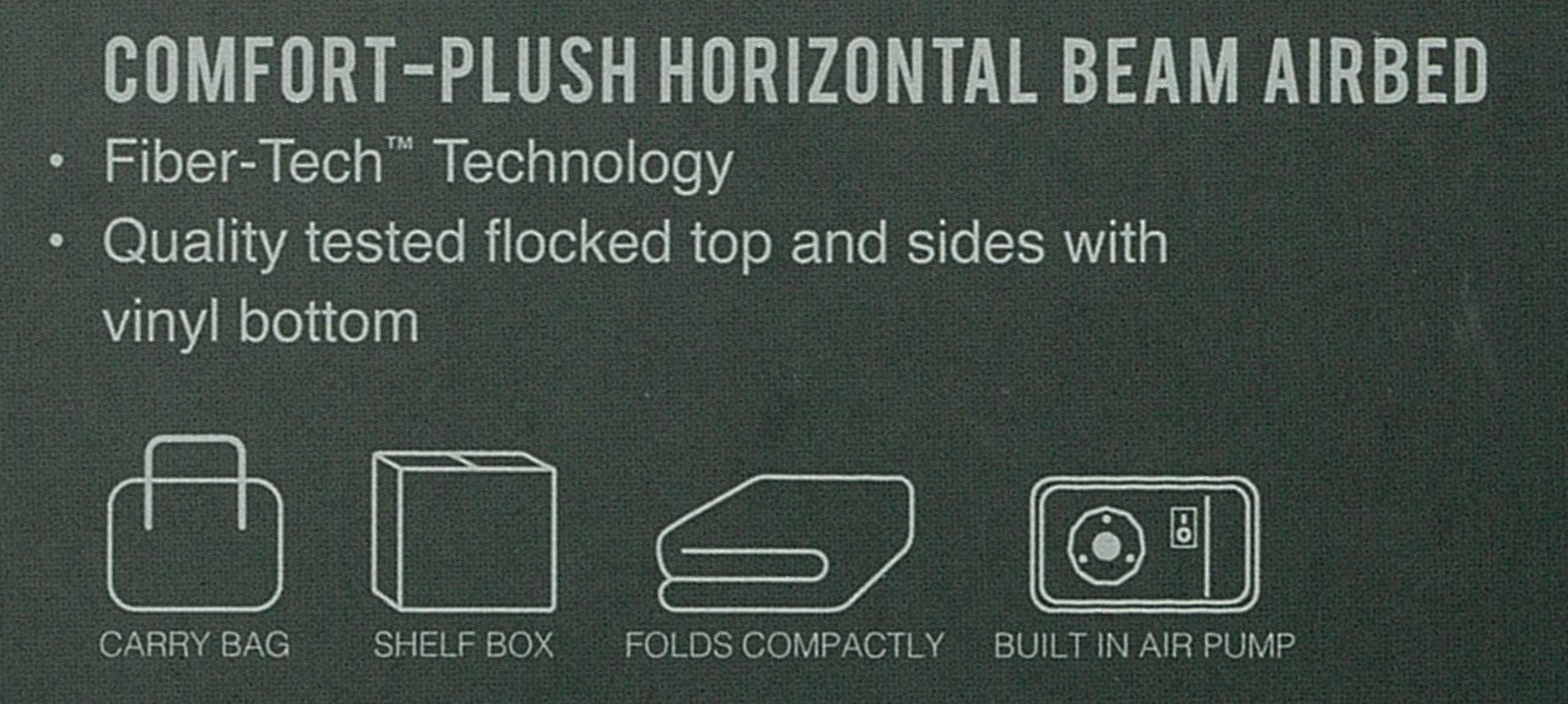 Intex Comfort Plush Elevated Dura-Beam Airbed with Built-in Electric Pump, Bed Height 18'', Twin by Intex (Image #19)