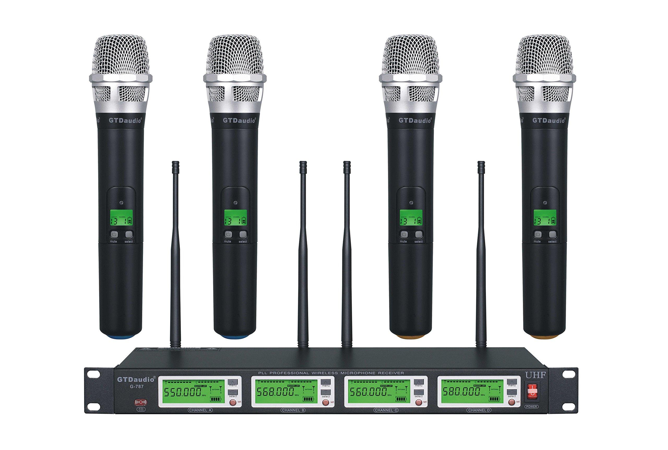 GTD Audio G-787H UHF Diversity Wireless Microphone System